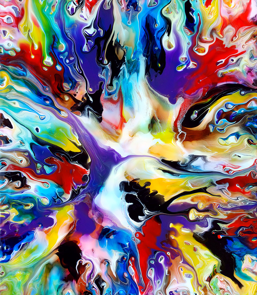 Fluid Painting 109
